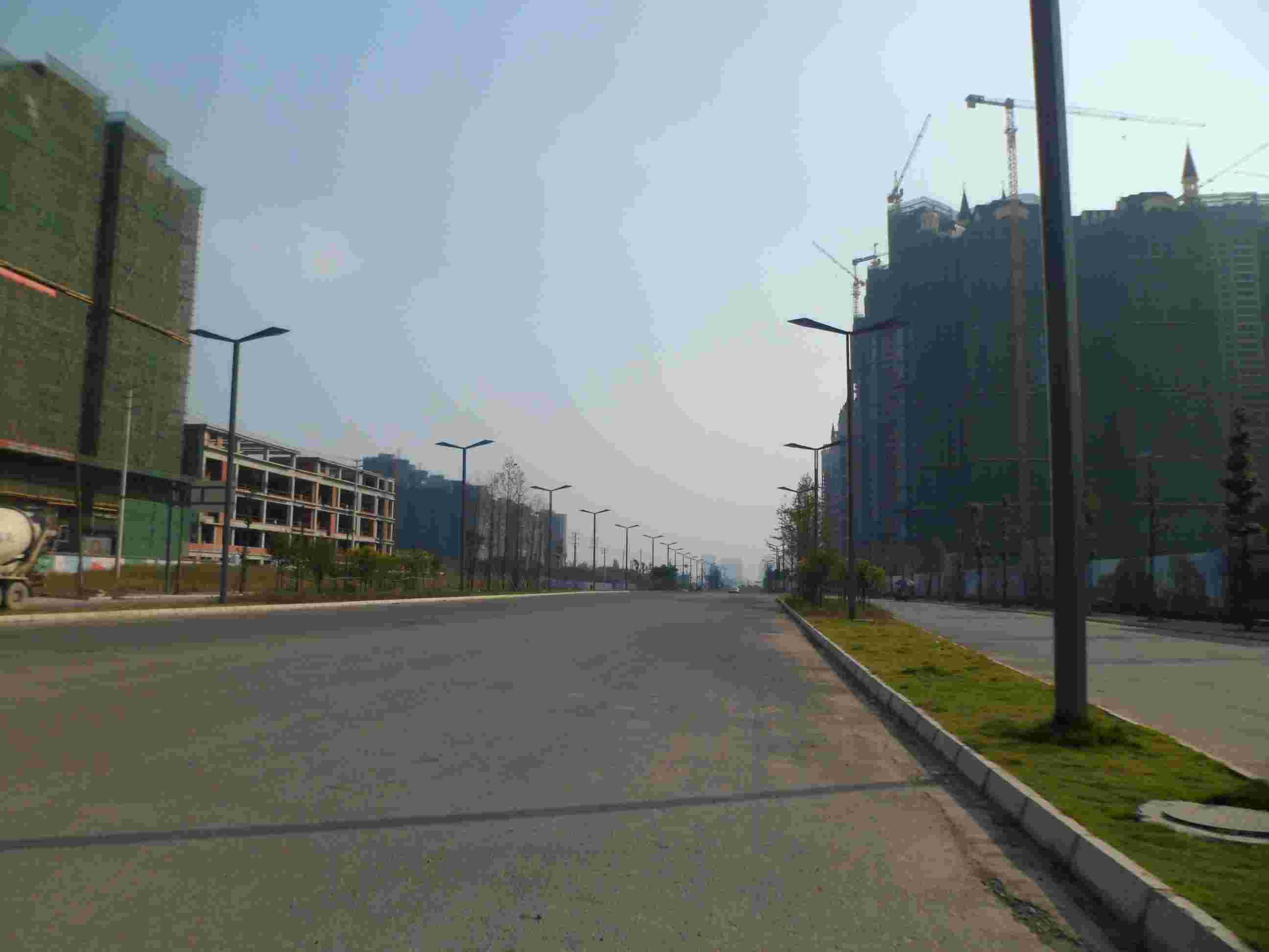 成都红星路南延线道排工程