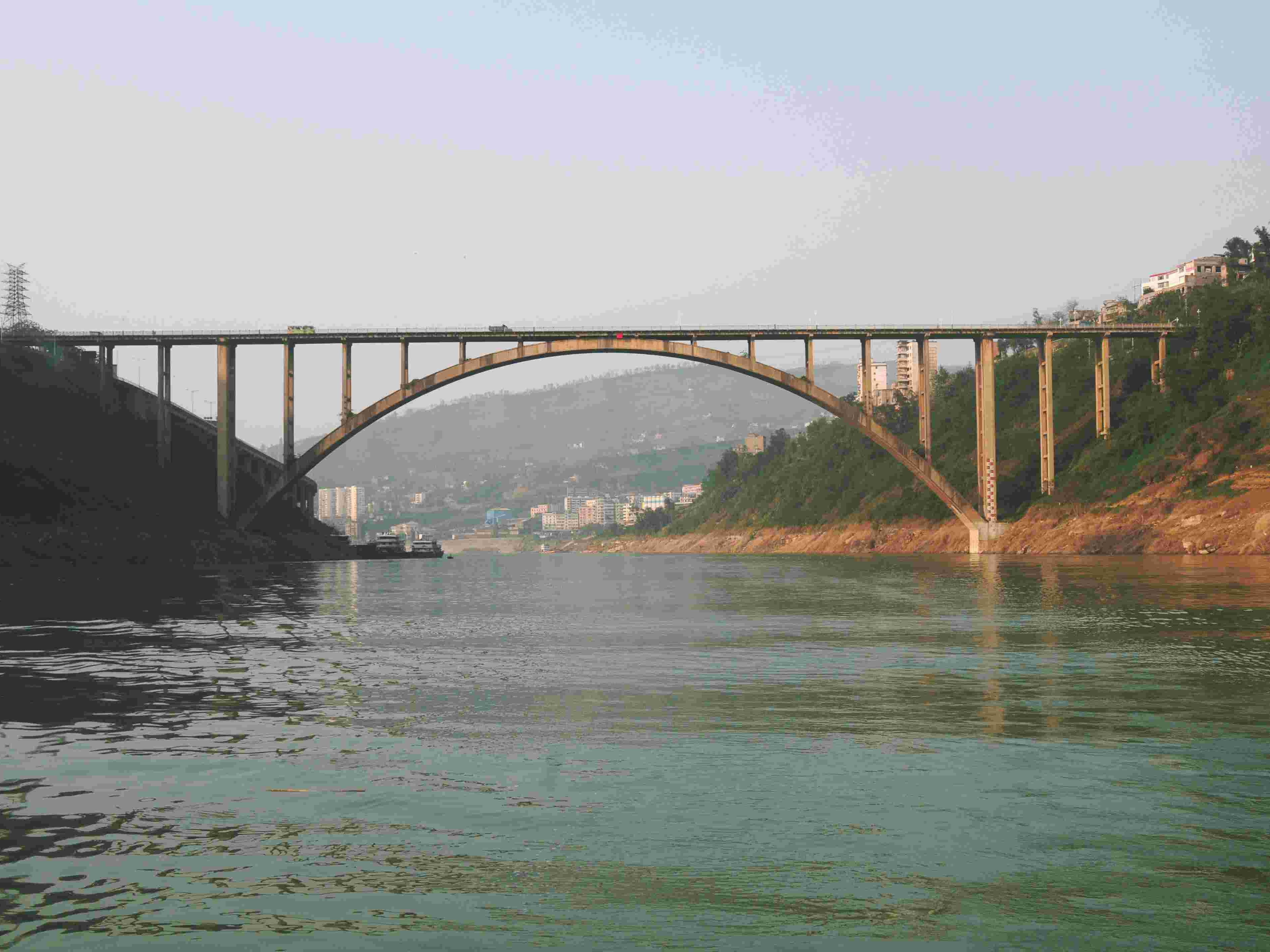 重庆涪陵乌江大桥