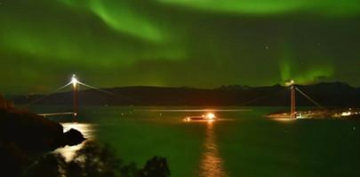《打造巨无霸:北极跨海大桥》——美国Discovery探索频道播出由四川路桥修建的挪威哈罗格兰德大桥专题纪录片