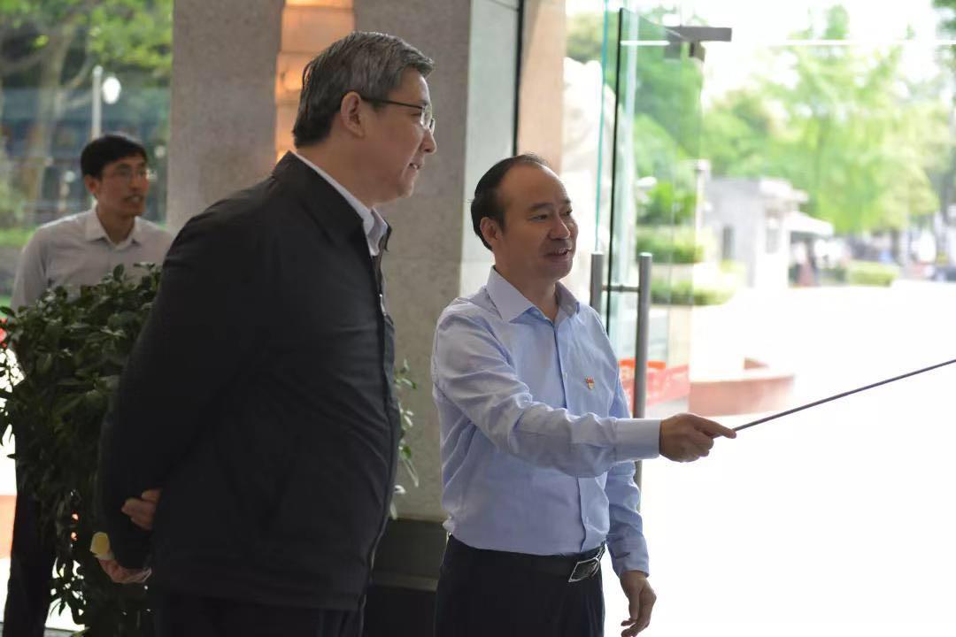 中组部组织二局领导调研公司党建工作